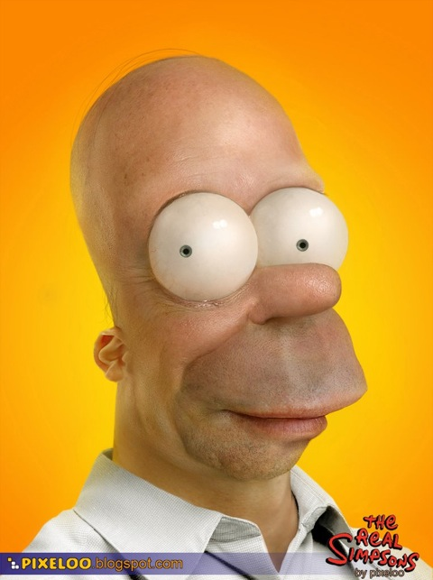 real homer simpson