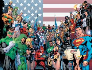 The Superheroes of DC Comics