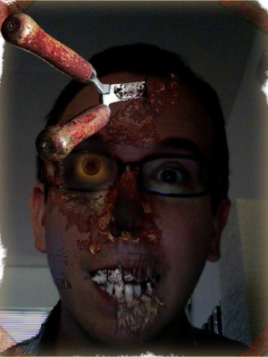 Eric Zombified from Zombieland