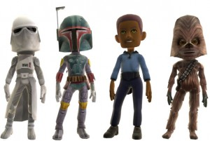 Empire Strikes Back Avatars for Xbox Marketplace