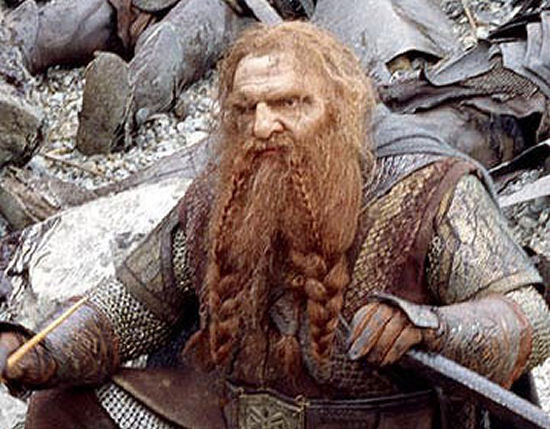 Lord of the Rings Gimli Disapproves of Vuvuzelas