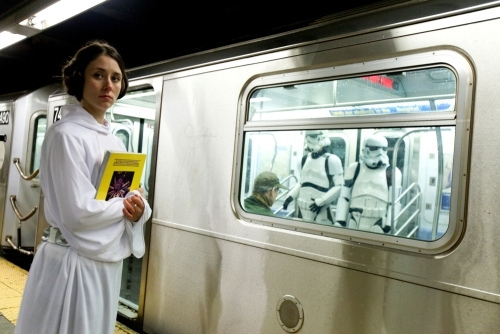 Star Wars on the Subway