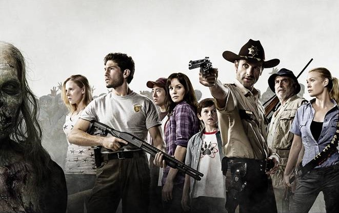 The Walking Dead - Cast photo